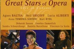"Lucia Aliberti⚘Agnes Baltsa⚘Neil Shicoff⚘Anna Tomowa-Sintow⚘Kurt Rydl⚘""Great Stars of Opera""⚘EuroArts Music⚘DVD⚘International Gmbh⚘:http://www.luciaaliberti.it #luciaaliberti #agnesbaltsa #neilshicoff #anna tomowasintow #kurtrydl #greatstarsofopera #euroartsmusic"
