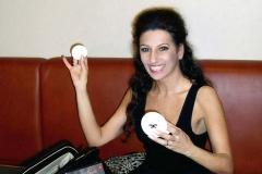 Lucia Aliberti⚘Autograph Session⚘Mannozzi's make-up powder⚘Nikolai Center⚘Berlin⚘:http://www.luciaaliberti.it #luciaaliberti #marcomannozzi #nikolaicenter #autographsession