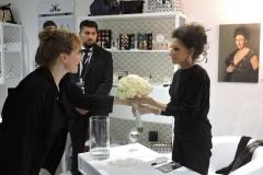 """Lucia Aliberti with the Fans⚘""""Marco Mannozzi Make-up lounge⚘Nikolai Center⚘Berlin⚘Autogramm Session⚘La Perla Fashion⚘:http://www.luciaaliberti.it #luciaaliberti #marcomannozzi #nikolaicenter #berlin #autographsession #laperlafashion"""