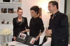 """Lucia Aliberti with Marco Mannozzi and his wife⚘""""Marco Mannozzi Make-up lounge⚘""""Nikolai Center⚘Berlin⚘Autograph Session⚘La Perla Fashion⚘photo shooting⚘:http://www.luciaaliberti.it #luciaaliberti #marcomannozzi #nikolaicenter #berlin #autographsession #laperlafashion #photoshooting"""