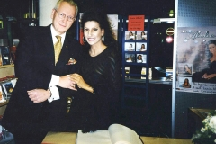 Lucia Aliberti with the German businessman Director of the Vogt-Gruppe and Konzerthaus in Dortmund  Ulrich Andreas Vogt⚘Gala Concert⚘Konzerthaus Dortmund⚘Dortmund⚘Autograph Session⚘Wolford Fashion⚘:http://www.luciaaliberti.it #luciaaliberti #ulrichandreasvogt #vogtgruppe #konzerthaus #dortmund #galaconcert #autographsession #wolfordfashion