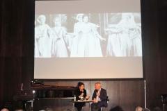Lucia Aliberti with the Musicologist Michael Horst⚘during the Belcanto-Symposion⚘Deutsche Oper Berlin⚘Berlin⚘Photo from the Opera Beatrice di Tenda⚘Escada Fashion⚘:http://www.luciaaliberti.it #luciaaliberti #michaelhorst #belcantosymposion #deutscheoperberlin #berlin #beatriceditenda