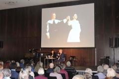 Lucia Aliberti with the Musicologist Michael Horst⚘during the Belcanto-Symposion⚘Deutsche Oper Berlin⚘Berlin⚘Photo from the Opera Lucia di Lammermoor with Alfredo Kraus⚘Escada Fashion⚘:http://www.luciaaliberti.it #luciaaliberti #michaelhorst #alfredokraus #belcantosymposion #deutscheoperberlin #berlin #luciadilammermoor