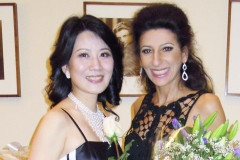 Lucia Aliberti with Anna Chang⚘Special Gala Concert⚘Carnegie Hall⚘New York⚘dressing room⚘Krizia Fashion⚘:http://www.luciaaliberti.it #luciaaliberti #annachang #carnegiehall #newyork #concert #dressingroom #kriziafashion