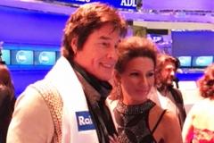 "Lucia Aliberti with the American actor,musician and singer:songwriter Ronn Moss⚘TV Show ""Porta a Porta""⚘RAI 1⚘Krizia Fashion⚘:http://www.luciaaliberti.it #luciaaliberti #ronnmoss #portaaporta #rai1 #brunovespa #rome #kriziafashion"