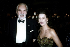 "Lucia Aliberti with the English actor,singer and author Christopher Lee⚘Guests Stars⚘Berlin Film Festival""Cinema for Peace""⚘Special Gala⚘Konzerthaus⚘Berlin⚘Escada Fashion⚘photo taken from the newspaper⚘:http://www.luciaaliberti.it #luciaaliberti #christopherlee#berlinfilmfestival #cinemaforpeace #konzerthaus #berlin #specialgala #escadafashion"