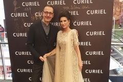 Lucia Aliberti with the Fashion Designer and Creative Director of the Curiel Brand Giampiero Arcese⚘Gala Concert⚘Guest Star⚘Shanghai⚘China Tour⚘Curiel Fashion⚘:http://www.luciaaliberti.it #luciaaliberti #giampieroarcese #shanghai #raffaellacurielfashion #chinatour #galaconcert
