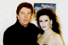 Lucia Aliberti with the TV entertainer Michael Schanze⚘TV Show⚘Stadttheater Bruneck⚘Bruneck⚘La Perla Fashion⚘:http://www.luciaaliberti.it #luciaaliberti #michaelschanze #stadttheater #bruneck #tvshow #laperlafashion #dressingroom