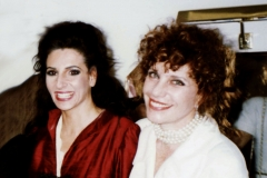 "Lucia Aliberti with the actress and writer Simona Marchini⚘Opera⚘""La Traviata""⚘Rome Opera House⚘Rome⚘dressing room⚘:http://www.luciaaliberti.it #luciaaliberti #simonamarchini #romeoperahouse #romre #latraviata #opera #dressingroom"