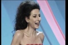 """Lucia Aliberti⚘Guest Star⚘59th Edition of the """"Premio Italia""""⚘Teatro Nuovo⚘Verona⚘on stage⚘RAI 1⚘Photo taken from the TV⚘Portrait Series⚘Escada Fashion⚘:http://www.luciaaliberti.it #luciaaliberti #teatronuovo #verona #premioitalia #rai1 #escadafashion #portraitseries"""
