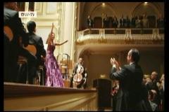 Lucia Aliberti⚘Laeiszhalle⚘Hamburg⚘Concert⚘on stage⚘DW TV⚘Deutsche Welle Portrait⚘Photo taken from the TV⚘Escada Fashion⚘:http://www.luciaaliberti.it #luciaaliberti #laeiszhalle #hamburg #deutschewelle #dressingroom  #onstage #escadafashion