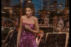 Lucia Aliberti⚘Semperoper Dresden⚘Dresden⚘Concert⚘on stage⚘Sony DVD recording⚘photo taken from the TV⚘:http://www.luciaaliberti.it #luciaaliberti #semperoperdresden #dresden #concert #onstage #sonyrecording #escadafashion