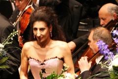 Lucia Aliberti⚘Stadthalle⚘Villach⚘Charity Aids Gala Concert⚘Austria⚘Photo taken from the TV⚘On Stage⚘Escada Fashion⚘:http://www.luciaaliberti.it #luciaaliberti #stadthalle #villach #charitygalaconcert #onstage #escadafashion