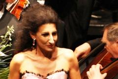 Lucia Aliberti⚘Stadthalle⚘Villach⚘Charity Aids Gala Concert⚘Austria⚘Photo taken from the TV⚘Escada Fashion⚘:http://www.luciaaliberti.it #luciaaliberti #stadthalle #villach #charitygalaconcert #onstage #escadafashion