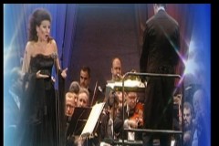 Lucia Aliberti with the conductor Oleg Caetani⚘Dresden's Summer Open Air Concert⚘Dresden⚘Mdr TV Recording⚘On Stage⚘Portrait Series⚘Photo taken from the TV⚘Escada Fashion⚘:http://www.luciaaliberti.it #luciaaliberti #olegcaetani #concert #dresden #openair #dresdenssummer #mdrtelevisionrecording #onstage #portraitseries #escadafashion