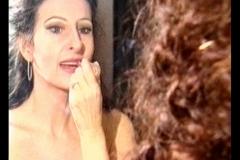 Lucia Aliberti⚘Laeiszhalle⚘Hamburg⚘Concert⚘Dressing Room⚘Deutsche Welle TV Portrait⚘Makeup Session in the mirror⚘Photo taken from the TV⚘:http://www.luciaaliberti.it #luciaaliberti #laeiszhalle #hamburg #concert #dwtelevision #portrait #dressingroom #makeupsession #mirror