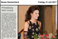 """Lucia Aliberti⚘Neues Deutschland⚘""""Primadonna kehrt zurück""""⚘""""Lucia Aliberti feiert in Berlin ihr 40jahriges Buhnenjubilaum⚘Portrait⚘:http://www.luciaaliberti.it #luciaaliberti #neues Deutschland #orimadonnakehrt #portrait"""