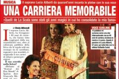 """Lucia Aliberti⚘""""ORA Magazine""""⚘Una Carriera Memorabile⚘Interview by Cinzia Alibrandi⚘Milan⚘:http://www.luciaaliberti.it #luciaaliberti #oramagazine #cinziaalibrandi #interview #milan"""