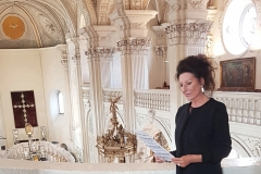 Lucia Aliberti⚘St.Andreas Church⚘a jewel of the German Baroque⚘Special Concert with Sacred Music⚘Dusseldorf⚘Armani Fashion⚘:http://www.luciaaliberti.it #luciaaliberti #standreaschurch #germanbaroque #dusseldorf #sacredmusic #concert #organ #armanifashion