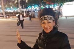 """Lucia Aliberti in the """"Nan Jing Xi Lu""""Fashion Street⚘Shanghai⚘Concert⚘China Tour⚘:http://www.luciaaliberti.it #luciaaliberti #concert #shanghai #nanjingxilustreet #fashionstreet #chinatour"""