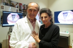 Lucia Aliberti with Dr.Franco Fussi ⚘Ravenna⚘voice specialist ⚘friend of singers⚘:http://www.luciaaliberti.it #luciaaliberti #francofussi #ravenna