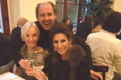 Lucia Aliberti with her Manager Stefan Schmerbeck and her friend Inge⚘Concert⚘Berliner Philharmonie⚘Berlin⚘Borchardt Restaurant⚘Party⚘:http://www.luciaaliberti.it #luciaaliberti #stefanschmerbeck #borchardtrestaurant #berlinerphilharmonie #berlin #concert #party