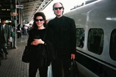 Lucia Aliberti with her Manager Dr. Stefan Schmerbeck⚘Tokyo⚘Concerts⚘Japan Tour⚘:http://www.luciaaliberti.it #luciaaliberti #stefanschmerbeck #tokyo #concerts #japantour