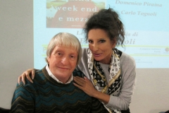 """Lucia Aliberti with the Art Critic and Historian Prof. Flavio Caroli⚘new book""""L'arte italiana in quindici weekend e mezzo """"⚘Palazzo Reale⚘Milan⚘:http://www.luciaaliberti.it #luciaaliberti #flaviocaroli #palazzoreale #milan"""