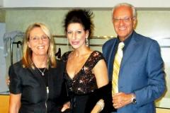 Lucia Aliberti with the Countess Eleonora Pellegrini De Vera and the Sport Journalist Filippo Grassia⚘Special Concert⚘Auditorium⚘Milan⚘Escada Fashion⚘:http://www.luciaaliberti.it #luciaaliberti #filippograssia #eleonorapellegrinidevera #auditorium #concert #milan #escadafashion
