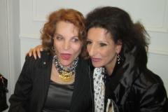 Lucia Aliberti with the Fashion Designer and Ambassador of Italian Fashion Raffaella Curiel⚘Curiel Fashion Show⚘Raffaella Curiel's Atelier⚘Milan⚘:http://www.luciaaliberti.it #luciaaliberti #raffaellacurielshow #curielfashiomontenapoleone #milan