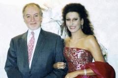 Lucia Aliberti with the Manager Dr.Giorgio Fanfani⚘Special Gala Concert⚘Rome Opera House⚘Rome⚘Dressing Room⚘Escada Fashion⚘:http://www.luciaaliberti.it #luciaaliberti #giorgiofanfani #romeoperahouse #rome #dressingroom #escadafashion