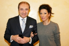 """Lucia Aliberti with the Entrepreneur,Consulting and Ambassador of the""""Authentic Places""""Frank Schnitzler⚘Hotel Breidenbacher Hof⚘Dusseldorf⚘Photo taken from the newspaper⚘:http://www.luciaaliberti.it #luciaaliberti #frankschnitzler #hotelreidenbacherhof #dusseldorf"""