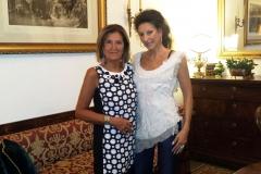 "Lucia Aliberti with the journalist and writer Cinzia Alibrandi⚘Interview for""Assodigitale""⚘Magazine online⚘Family home⚘Sicily⚘:http://www.luciaaliberti.it #luciaaliberti #cinziaalibrandi #assodigitale #magazineonline #interview #familyhome #sicily"