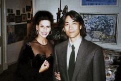 Lucia Aliberti with the conductor Kent Nagano⚘Tempodrom⚘Berlin⚘Gala Concert⚘Privat Party⚘:http://www.luciaaliberti.it #luciaaliberti #kentnagano #tempodrom #berlin #concert #party #laperlafashion