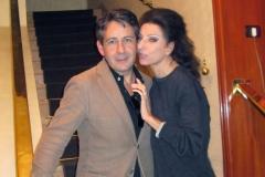 Lucia Aliberti with the tenor Placido Domingo junior⚘Savini Restaurant⚘Milan⚘:http://www.luciaaliberti.it #luciaaliberti #placidodomingojunior #savinirestaurant #milan